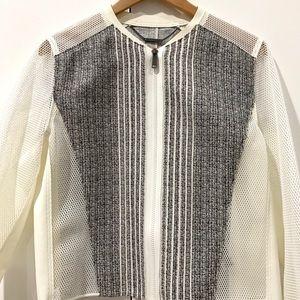 Elie Tahari Black and White Jacket